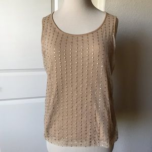 Eye-catching Tank by Chico's, Size 1 or 10